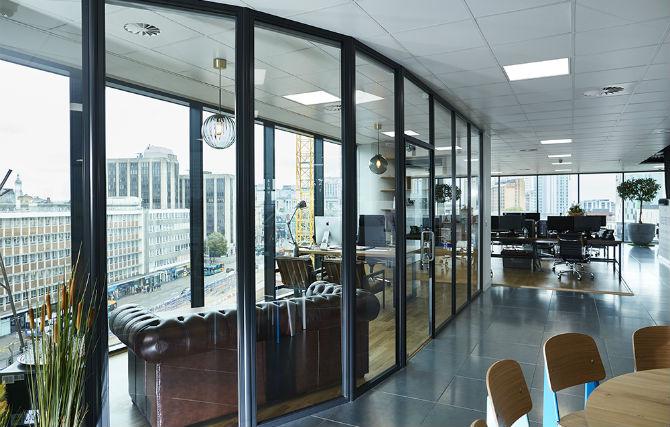Image: S3 Office / Paramount Interiors