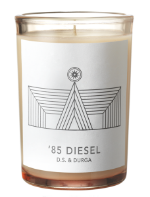 Nostalgic aromas in the  '85 Diesel  candle.