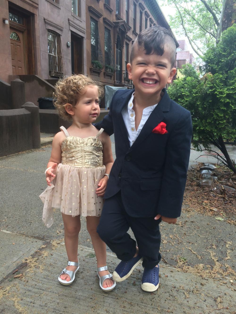 Brooklyn Babies. Coco, 2 + Krishna, 4.