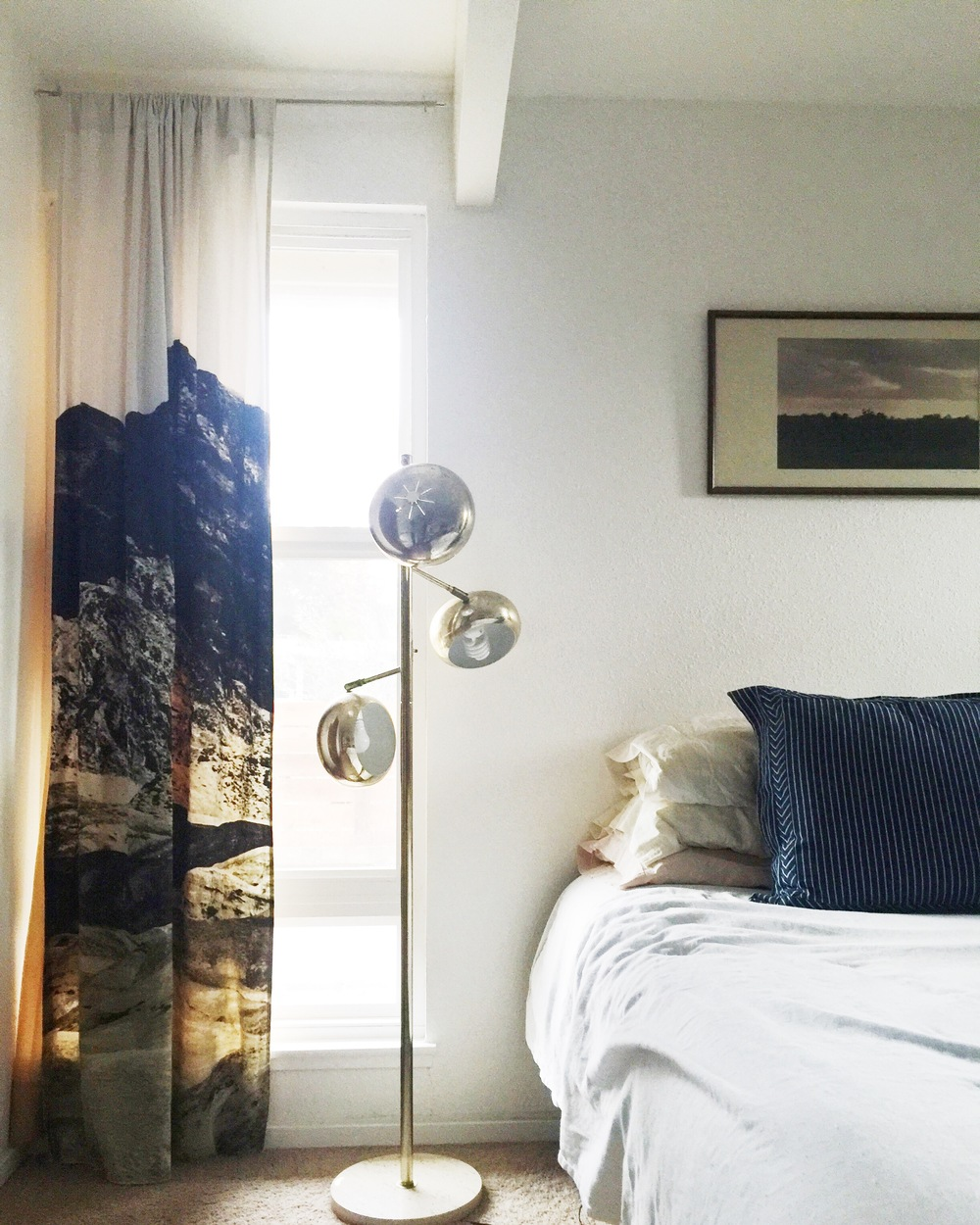 Serene master bedroom.