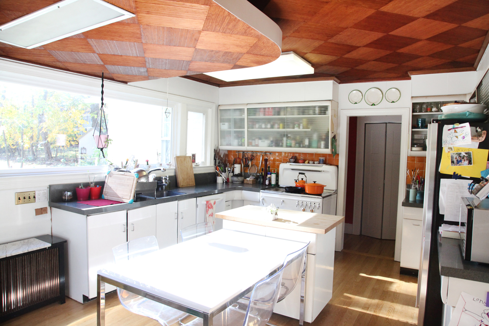 "This kitchen!!!  ""There is an authenticity here that comes from use and age and we are happy to honor that."""