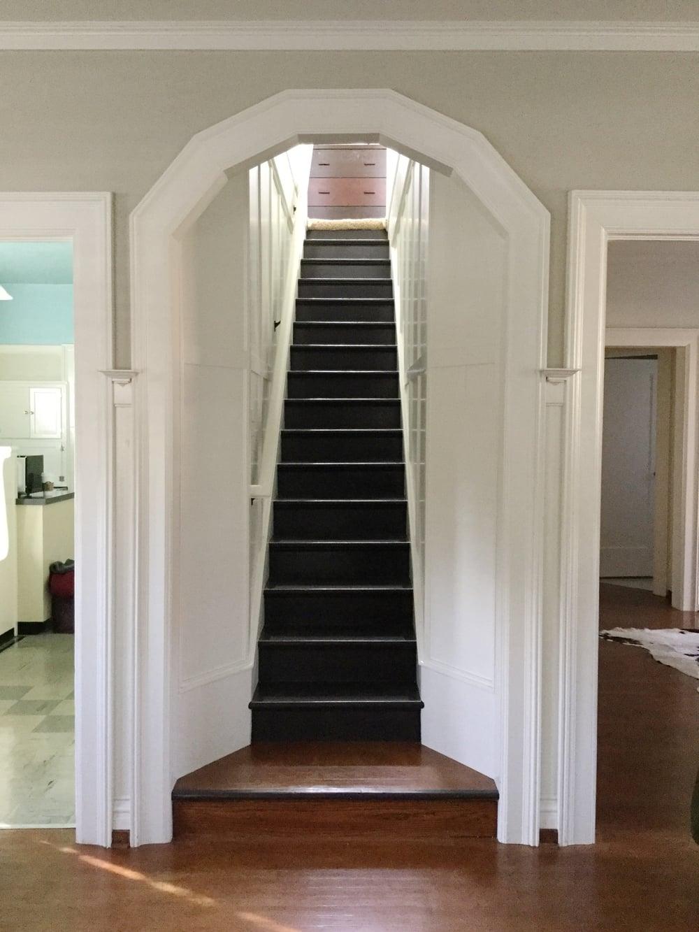 Lady steps.