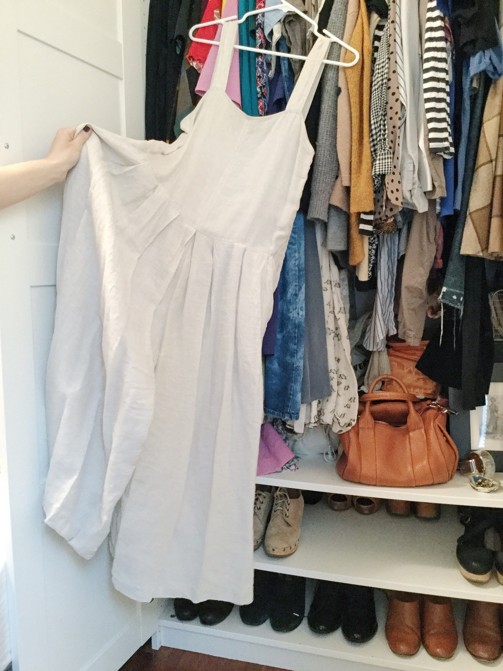 A killer Rachel Comey romper keeps good company amongst many of Olga's sample sale + thrift scores.