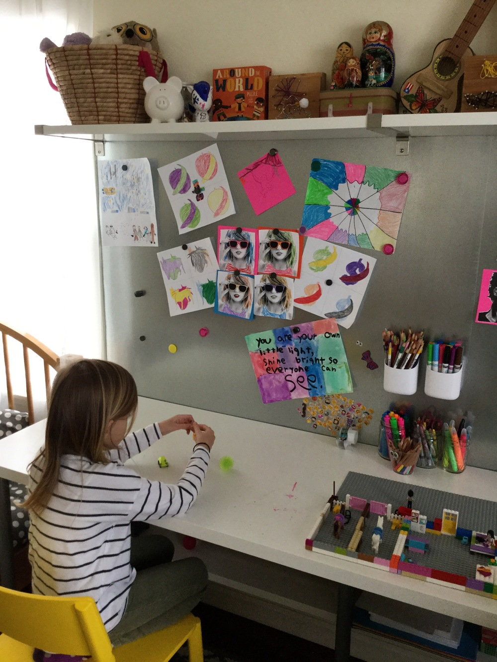 Olga shares some tips on ROOM-SHARING:     -Create individual spaces within their room. It's such an important part of development for kids to have their own designated space, it takes a little more creativity when the room is shared but can definitely be done.