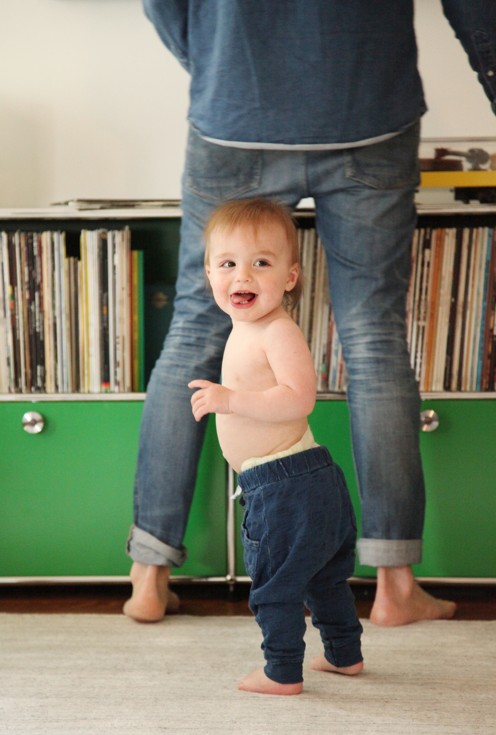 Tate's got jams in his bones. Dad's a vinyl guru with a serious collection.