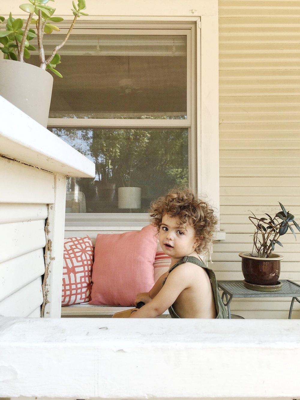 Zain Oliver's cherub-charm.