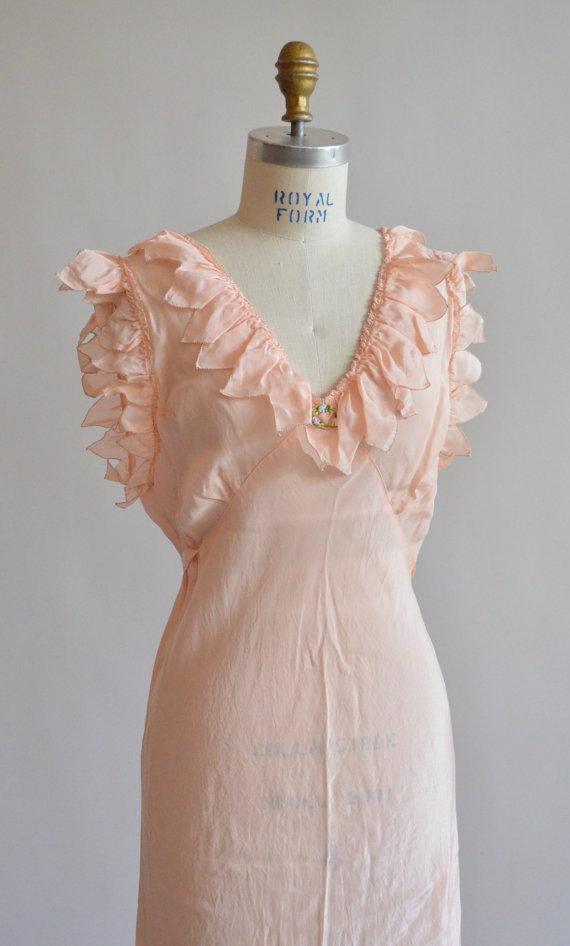 1940's Silk Slip