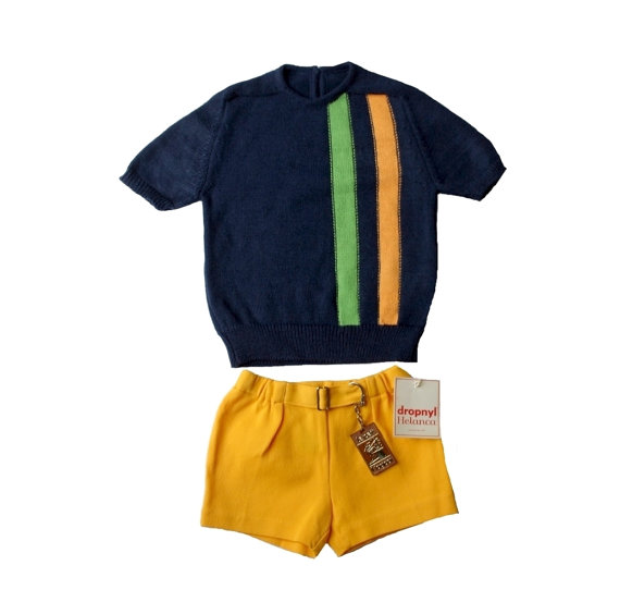 French Kid's Sweater Set