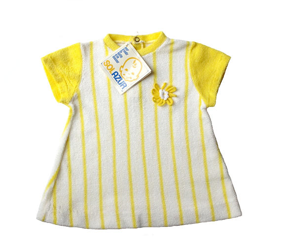 Terry Daisy Baby dress