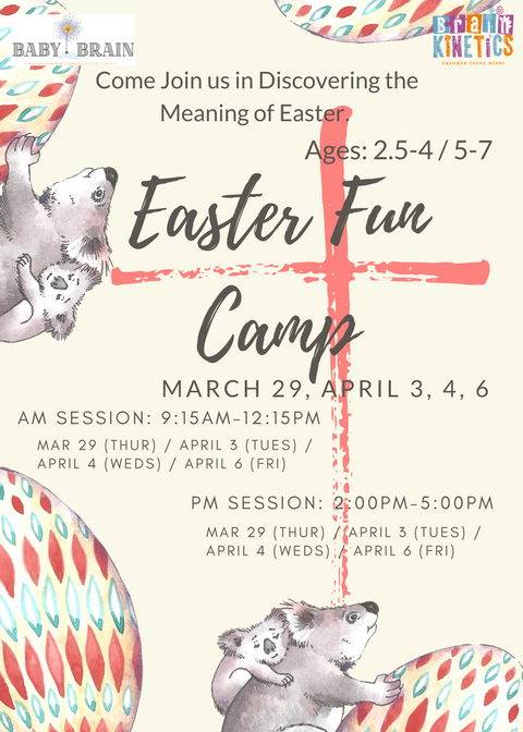 2018 Easter Fun Camp 1of2