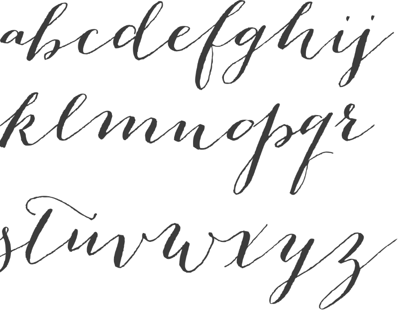 Chloe welbaumhow to use calligraphy fonts Calligraphy scripts