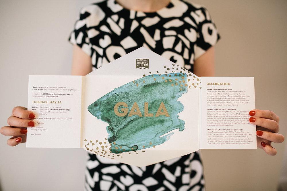 Gala Invitation Design
