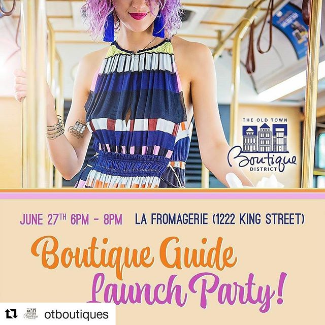 Keep an eye out for the new @otboutiques Boutique Guide! I love designing for my local community in Old Town: there are so many wonderful independent stores to discover here. #shoplocal #oldtownboutiquedistrict #ExtraordinaryALX