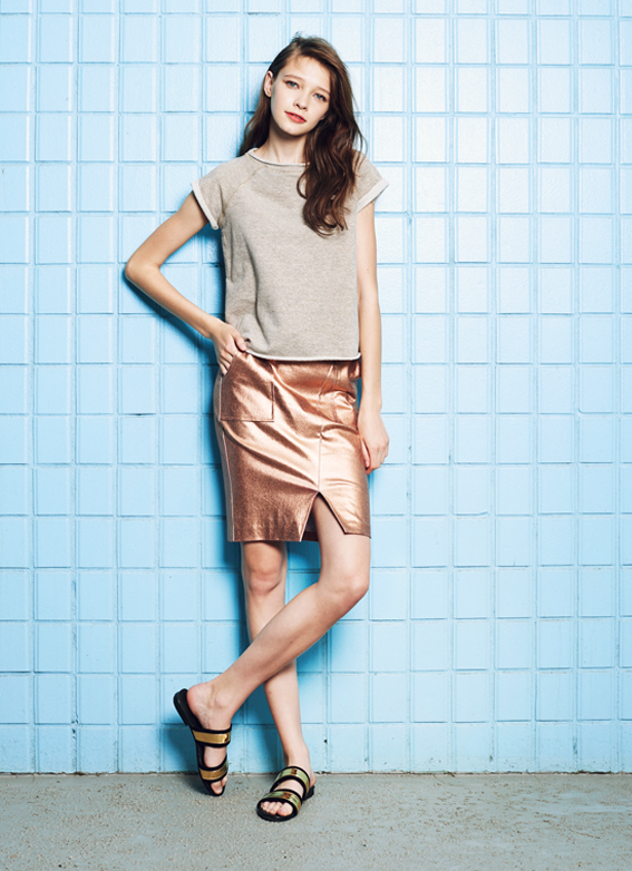 Glitter Top & Glitter Skirt
