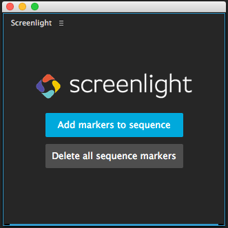 Getting Started With Screenlight Marker Importer for Adobe