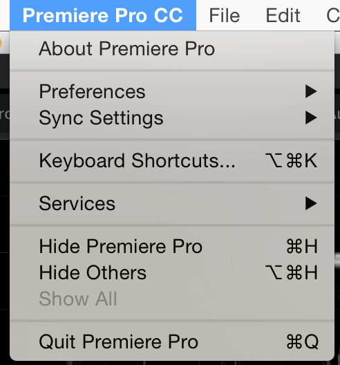 Where to find Keyboard Shortcuts on a Mac.
