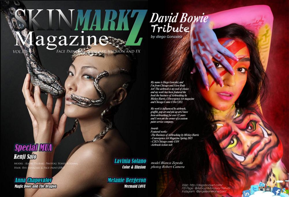 diego body art skin markz magazine