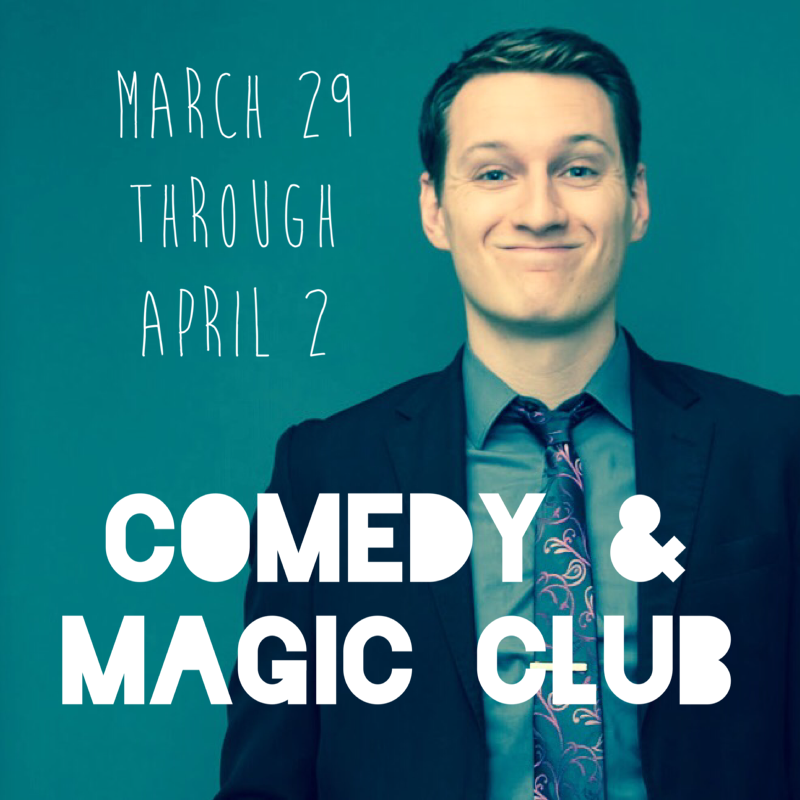 Nick Paul Comedy and Magic Club