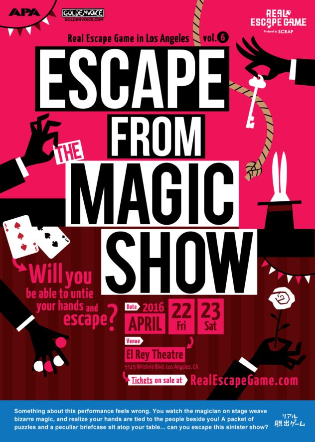 Escape from the Magic Show LA