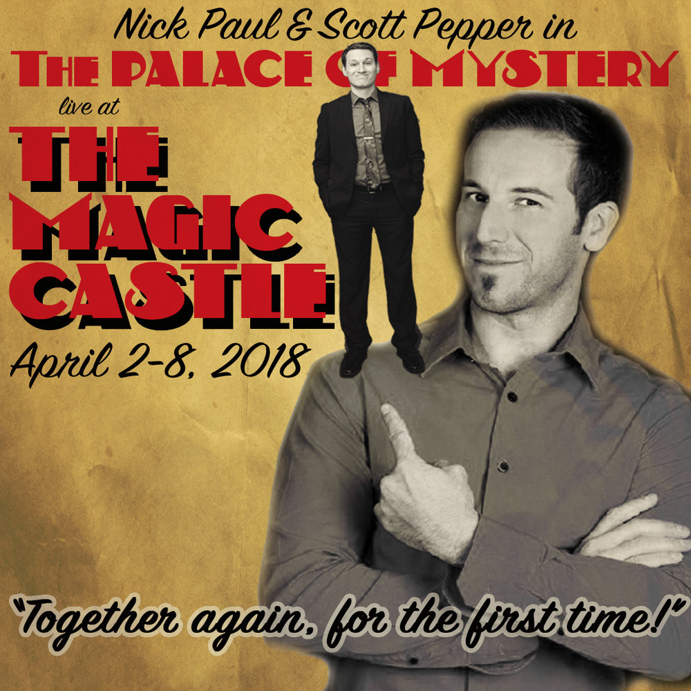 Magic Castle Magician
