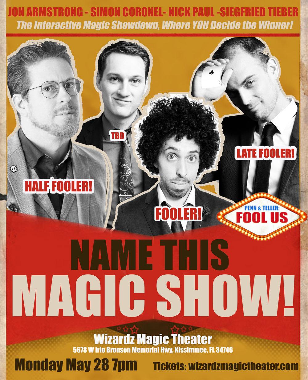Name this magic show