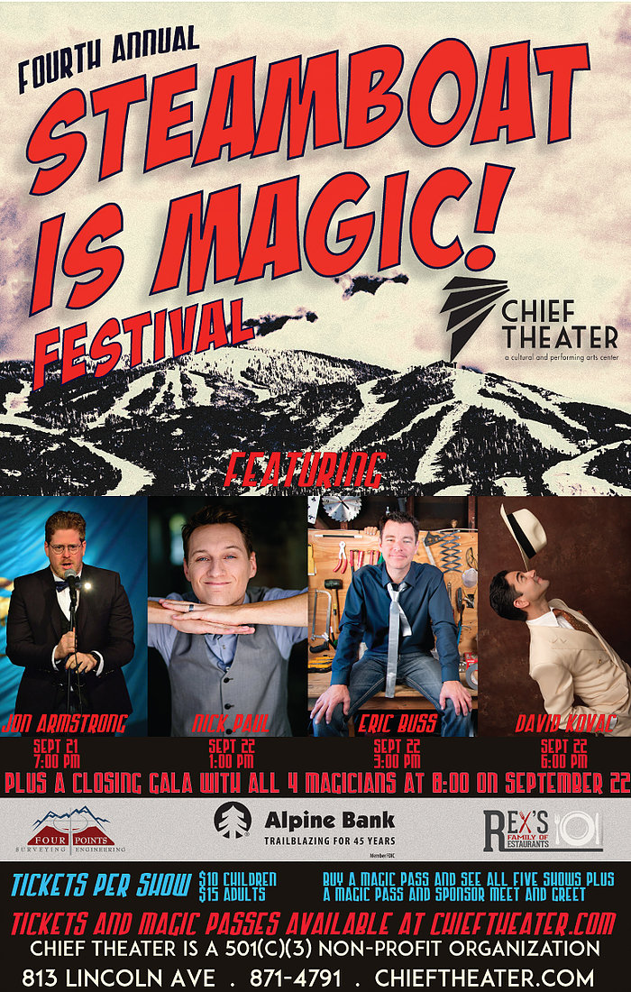 Steamboat is Magic Festival Sept 21-22 2018