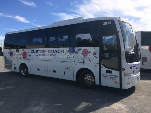 34 passenger coach