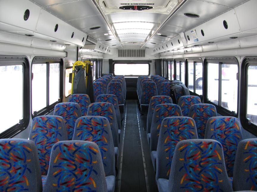 Shuttle interior