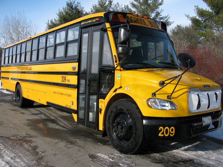 48-72 passenger school bus