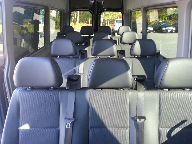 14 passenger Sprinter van