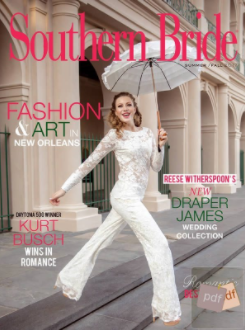 Southern Bride Magazine Cover Fall 2017