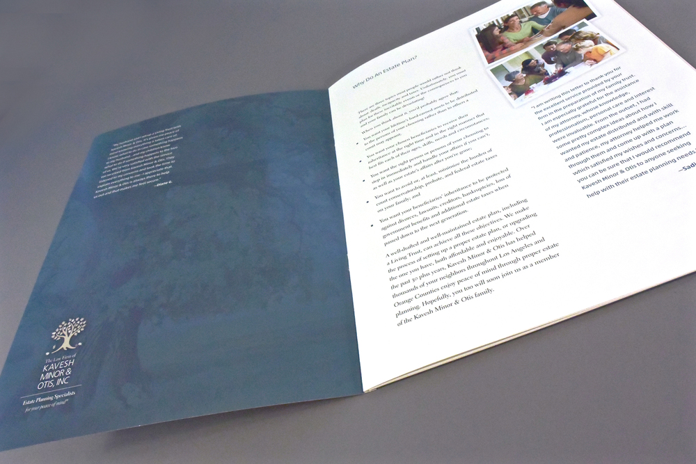 Corporate Pocket Brochure Interior