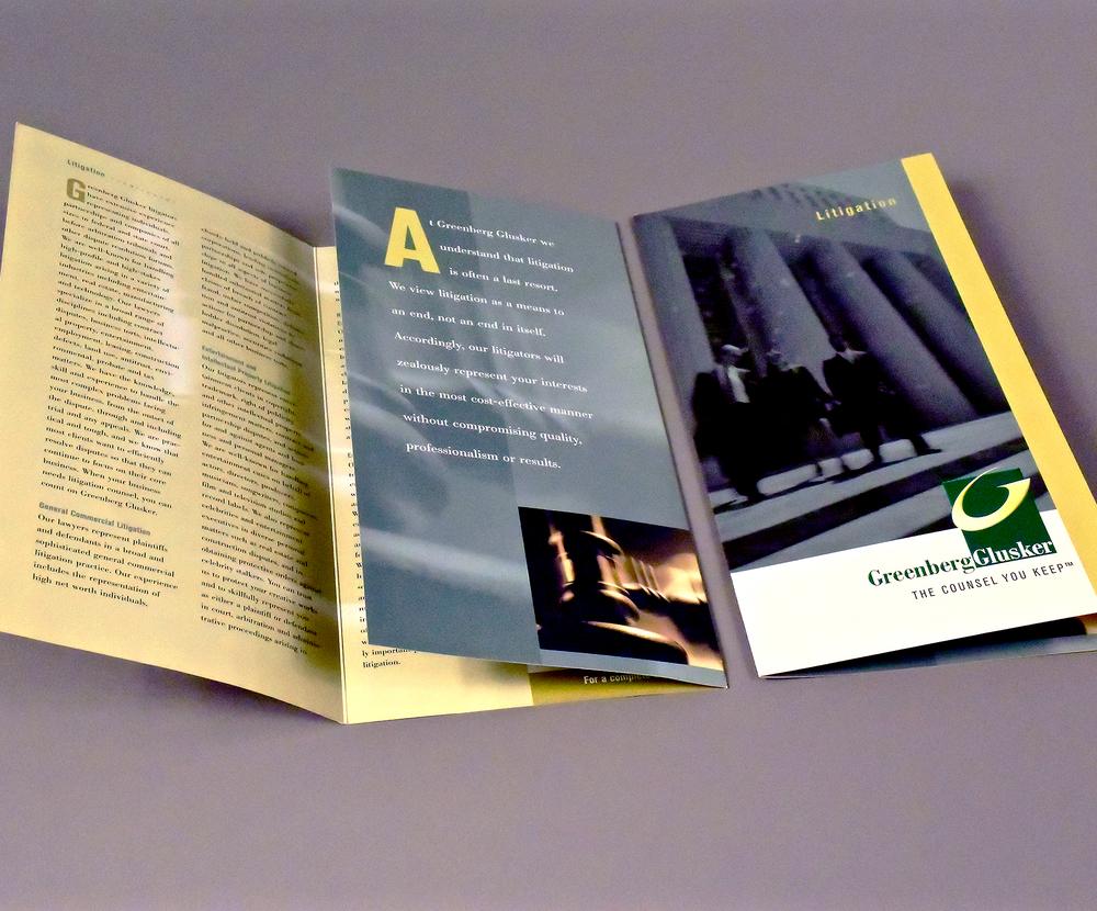 Practice Area Brochure