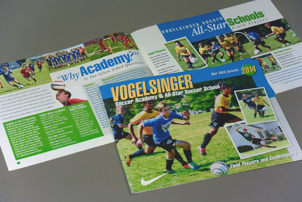 Summer Soccer Camp Brochure