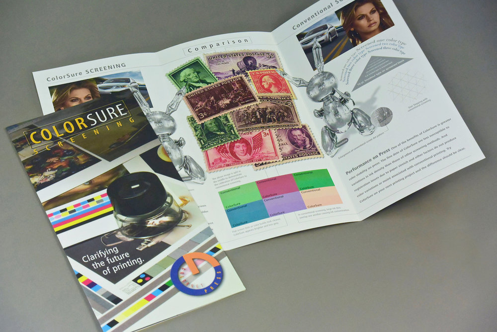 Colornet Press Product Demonstration Brochure