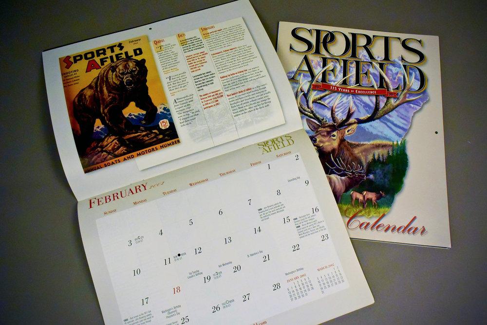 Sports Afield Calendar