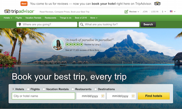 Screenshot via TripAdvisor.com