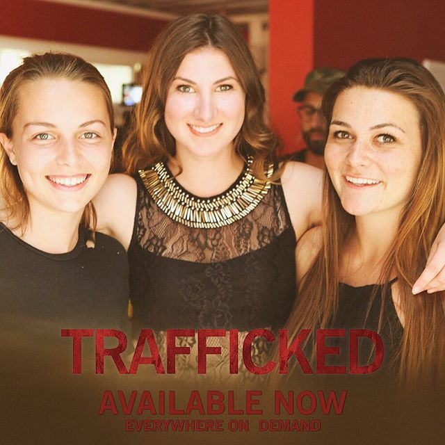#ThankfulThursday This one goes to all YOU #TraffickedMovie fans! Thanks SO much for all the support and getting the word out on this film!