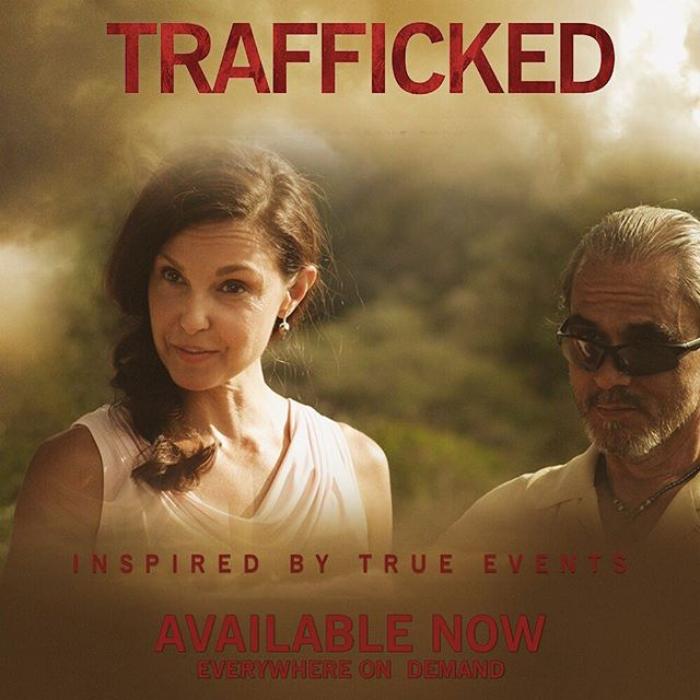 It's just business. See @ashley_judd in #TraffickedMovie everywhere on demand. Link in bio.