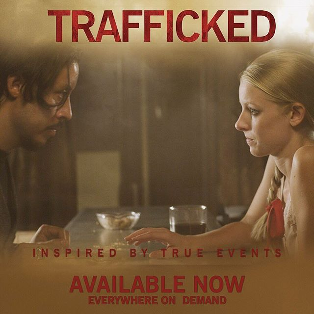 Sunday nights are movie nights, press play on a film that's relevant and thought-provoking. #TraffickedMovie