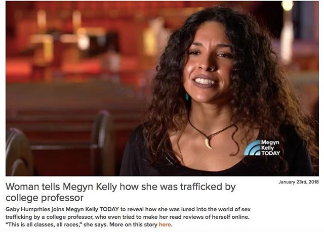 Quite similar to the characters in our film #TraffickedMovie traffickers aren't always intimidating looking men at the border. @todayshow tells us the story of a COLLEGE PROFESSOR in the U.S. luring a woman in to sex trafficking.