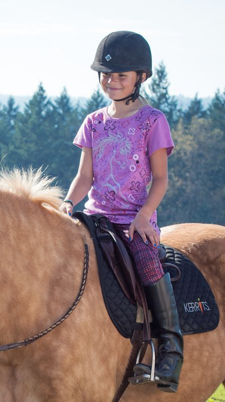 Kid's She Rides Tee   Original Price $25,00  SALE PRICE $18.50