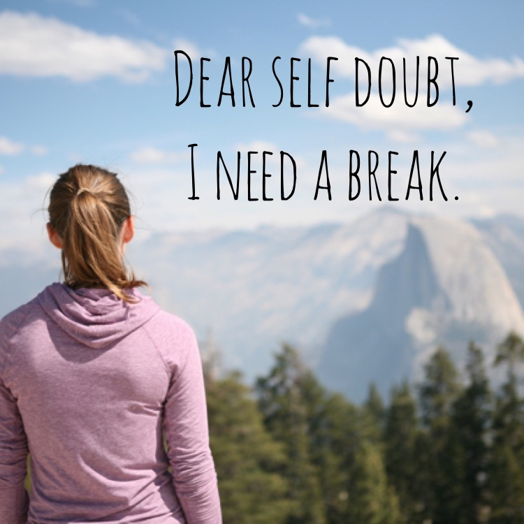 Dear Self Doubt