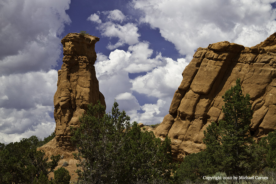 Rock chimney in Kodachrome Basin