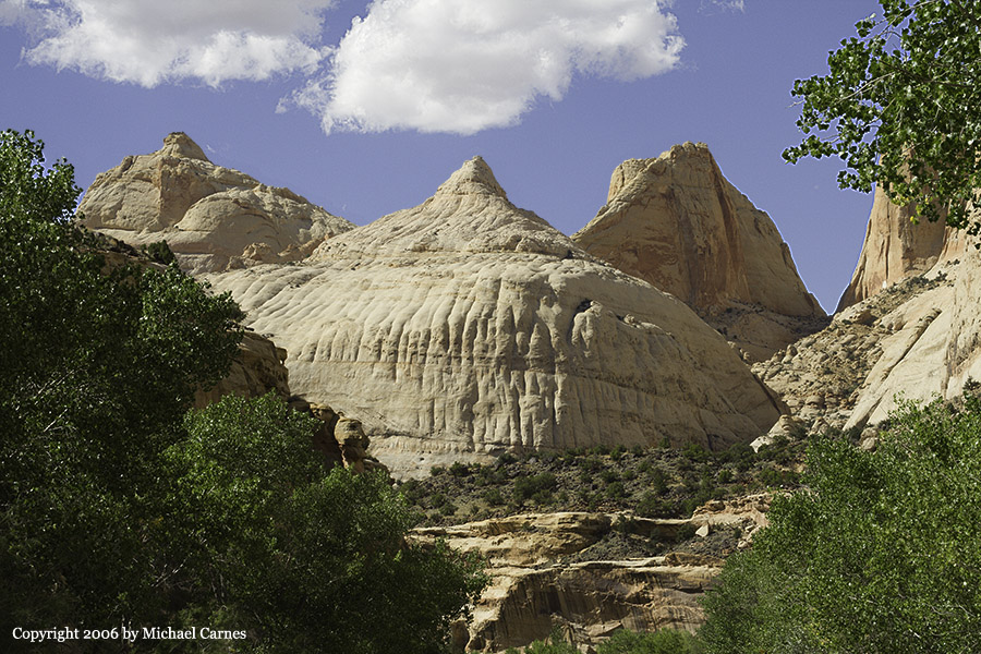 This dome at Capitol Reef is reminiscent of a minaret