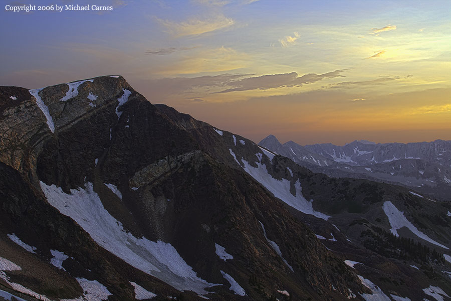 Snowbird is world famous for skiing.  The summer sights aren't so bad, either.