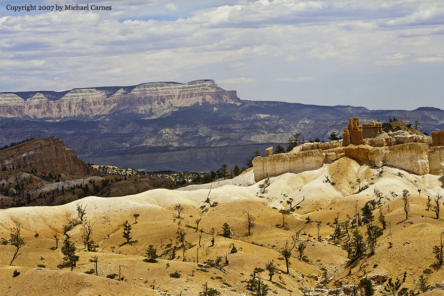 Bryce Canyon, looking toward Escalante