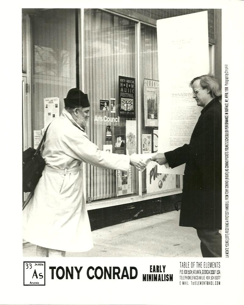Tony Protests La Monte, 1990
