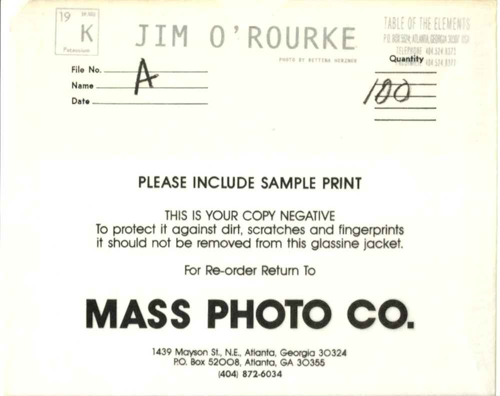 Production material, 1994