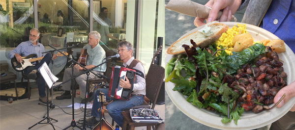 The Simplertones graced Wednesday evening's poster reception with laid-back vocals and instrumentals. And did we mention that the food was amazing?